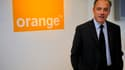 Stéphane Richard, le patron de France Télécom (Crédit: Reuters/ Philippe Wojazer)