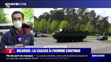 Belgique: près de 400 policiers et militaires mobilisés pour retrouver un militaire en fuite dans une forêt