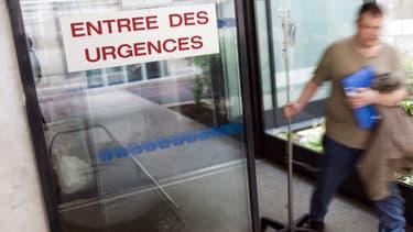 L'entrée des urgences à l'hôpital Hôtel-Dieu, à Paris.