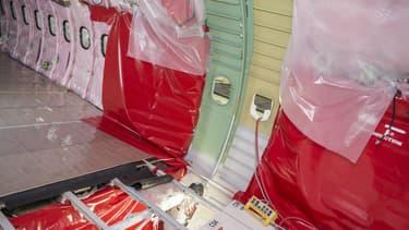 L'avionneur a conçu une cloison d'Airbus A320 fabriquée dans un alliage d'aluminium de sa conception.