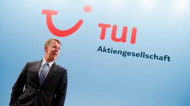 Friedrich Joussen, le patron de TUI Travel, va enfin pouvoir concrétiser son projet de fusion.