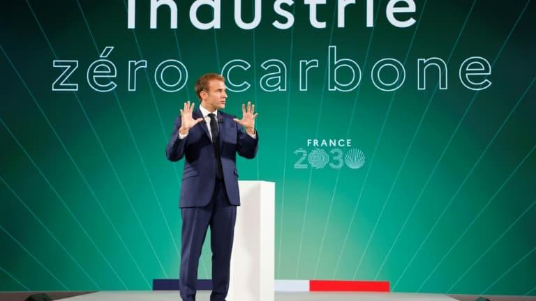 Produire en France deux millions de véhicules électriques et hybrides en 2030, l'objectif ambitieux d'Emmanuel Macron