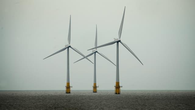 EDF a acquis un projet de parc éolien offshore d'une capacité de 450 mégawatts. (image d'illustration)