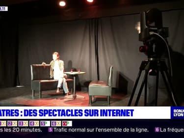 Culture: des spectacles diffusés en direct depuis des théâtres lyonnais