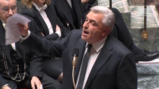 Frédéric Cuvilier, lors des questions au gouvernement, le 5 novembre 2013.