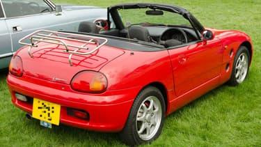 Une Suzuki Cappuccino de 1994, en Grande-Bretagne.