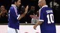 Robert Pires et Zinedine Zidane