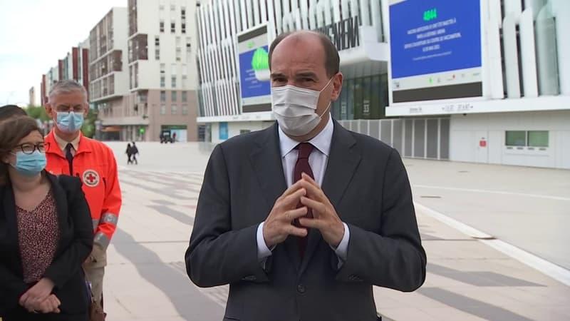 Covid-19: Jean Castex exhorte les plus de 55 ans à se faire vacciner,