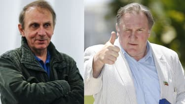 Houellebecq et Depardieu
