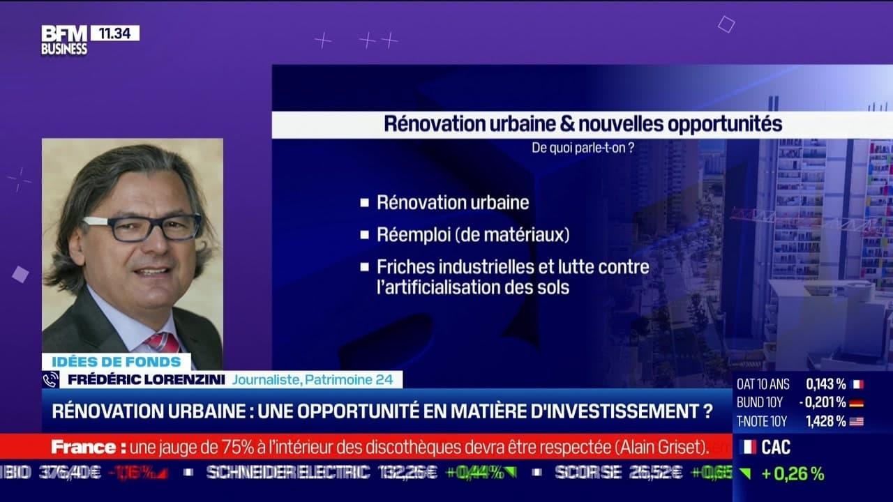 Idée de fonds: Rénovation urbaine, une opportunité en matière d'investissement ? - 21/06