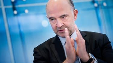 Le commissaire européenne en charge des Affaires économiques, Pierre Moscovici.