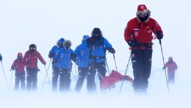 L'expédition Walking With The Wounded, menée par le Prince Harry, est arrivée à son but, le Pôle Sud, vendredi 13 décembre.