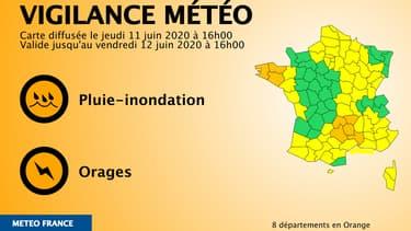 La dernière vigilance de Météo-France