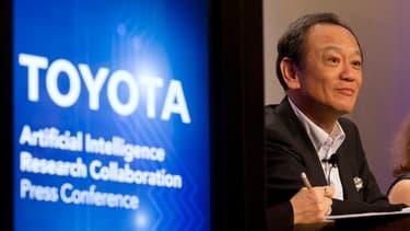 Pour Kiyotaka Ise, patron de la R&D de Toyota, le but est de conserver le plaisir de la conduite, en éliminant les risques de collision.