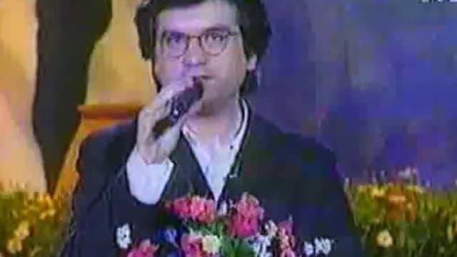 Le chanteur Edouardo
