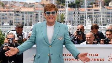 Elton John au festival Cannes en mai dernier