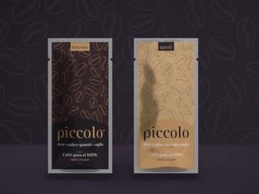 La marqué de café sans eau, Piccolo