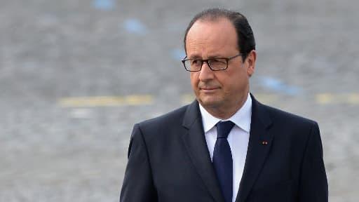 François Hollande, le 14 juillet 2014.