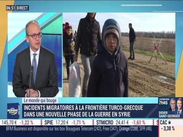 Benaouda Abdeddaïm : Incidents migratoires à la frontière turco-grecque dans une nouvelle phase de la guerre en Syrie - 02/03