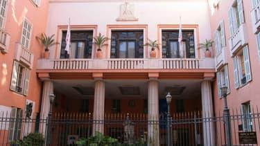 La façade de la mairie de Nice, où le mariage prévu lundi 23 mars 2015 a été suspendu par le parquet.
