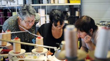 La main d'oeuvre de l'industrie textile est vieillissante.
