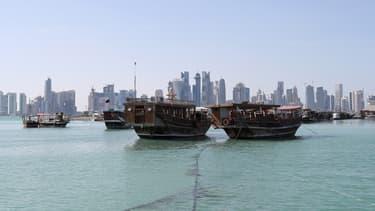 Une vue de Doha, au Qatar.