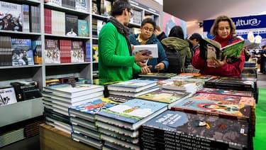 A Angoulême, en janvier 2015. La sélection des auteurs pour le Grand Prix fait parler d'elle, en raison de l'absence d'hommes.