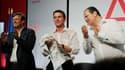Manuel Valls a littéralement mouillé la chemise à l'université d'été du Parti socialiste à La Rochelle, dimanche.