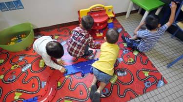Des enfants jouent dans une classe d'une école maternelle privée de Nantes, en 2012. (Photo d'illustration).