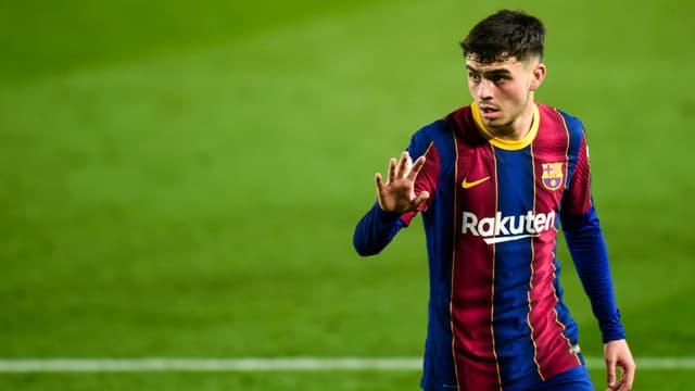 Pedri sous le maillot du Barça