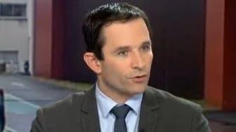 BLe ministre délégué à la Consommation Benoît Hamon, le 14 février 2013 sur France 2