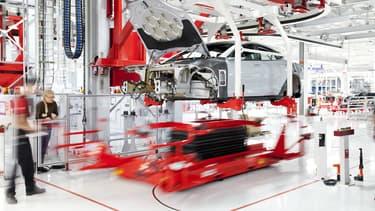 C'est à Fremont en Californie que Tesla produit ses Model S, Model X et future Model 3.