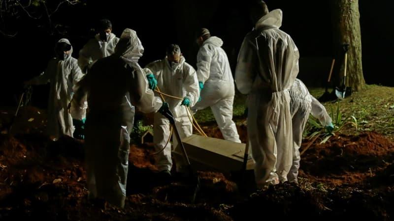 Brésil: plus de 4000 morts du Covid-19 en 24 heures, un record