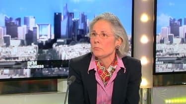 L'ambassadeur d'Allemagne à Paris, Susanne Wasum-Rainer, a accompagné les investisseurs allemands invités par l'Elysée.