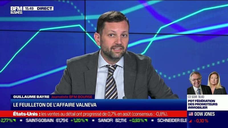 Guillaume Bayre (BFM Bourse) : Le feuilleton de l'affaire Valneva - 16/09