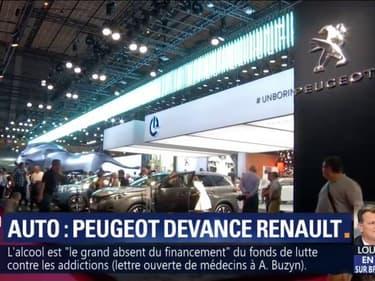 Pour la première fois, Peugeot séduit plus les Français que Renault