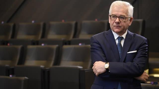 Le ministre polonais des Affaires étrangères, Jacek Czaputowicz.