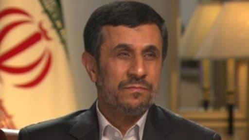 Le président iranien, Mahmoud Ahmadinejad.