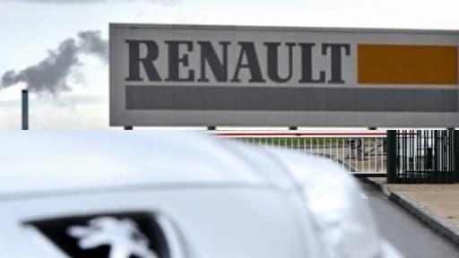 Les analystes s'attendent à voir PSA plonger dans le rouge et Renault se maintenir dans le vert