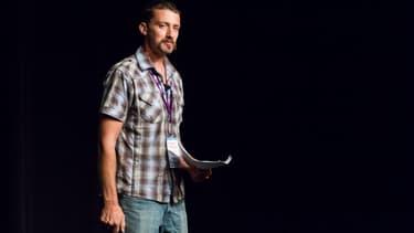 Peter Adeney lors d'une conférence, fin 2012.
