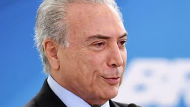 Le président brésilien Michel Termer, le 5 octobre 2016.