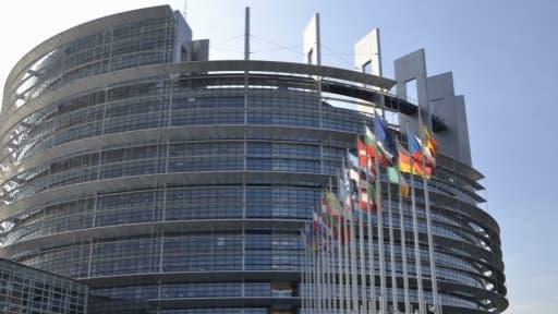Le Parlement européen de Strabourg