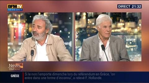 Dan Franck réagit sur la menace qui plane sur Les Guignols de l'Info
