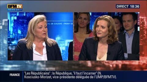 """Nathalie Kosciusko-Morizet face à Hedwige Chevrillon dans BFM Politique: """"Je ne souhaite pas que la Grande-Bretagne quitte l'Union européenne"""""""