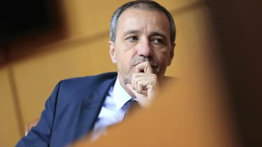 Jean-Guy Talamoni, le président de l'Assemblée de Corse, défend le texte controversé.