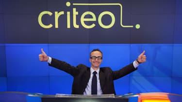 Jean-Baptiste Rudelle, Président-directeur général de Criteo.
