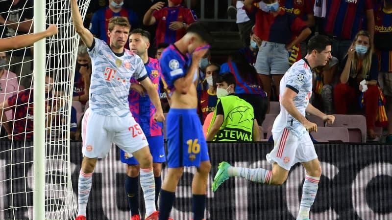 Ligue des champions: la statistique affligeante du Barça face au Bayern