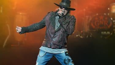 Axl Rose sur scène en mai 2014