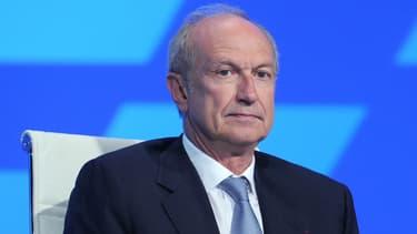 Jean-Paul Agon, le PDG de l'Oréal, est le patron du CAC40 le mieux payé en 2015.