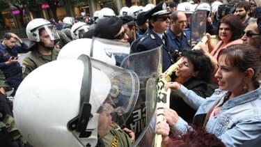 De nouveaux affrontements ont eu lieu ce week-end en Grèce